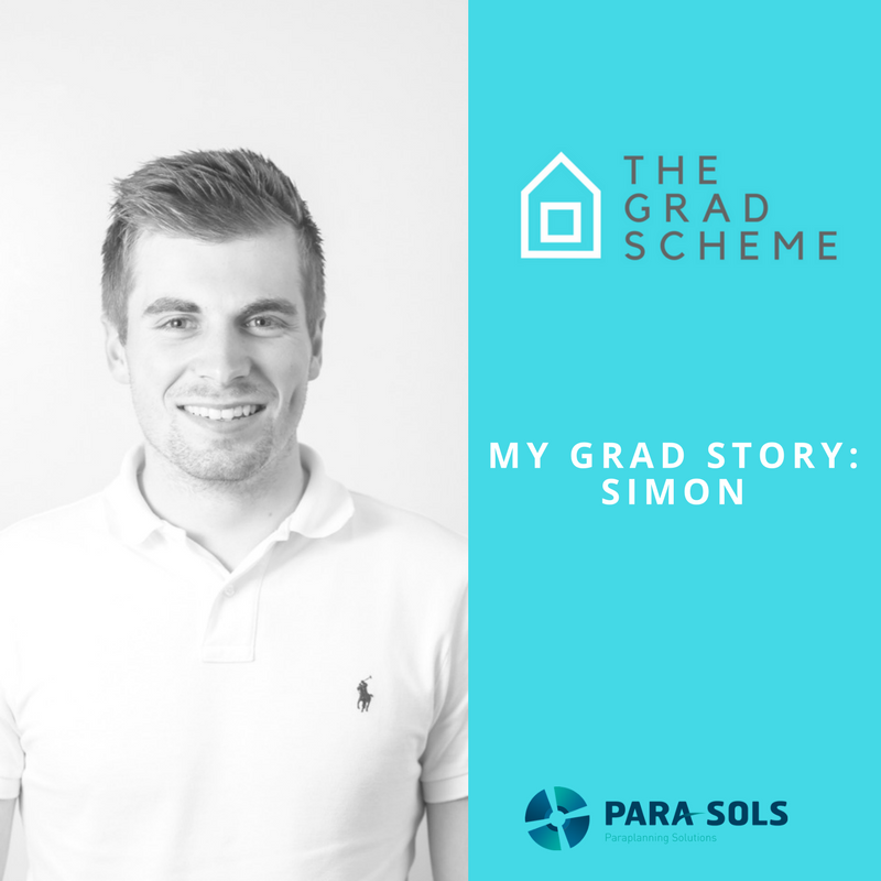 The Grad Scheme: Simon's Story