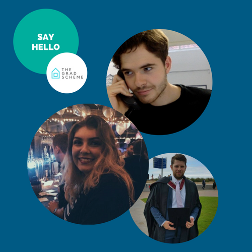 Say hello to… Sam, Holly & Johnny