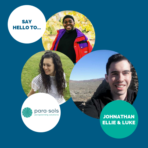 Say hello to… Johnathan, Ellie & Luke